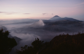 Bromo and Semeru, early morn