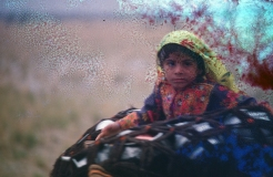 A disappearing way of life - Kuchi girl - always on the move between grazing lands in lowland Baluchistan and Afghanistan... war or no war